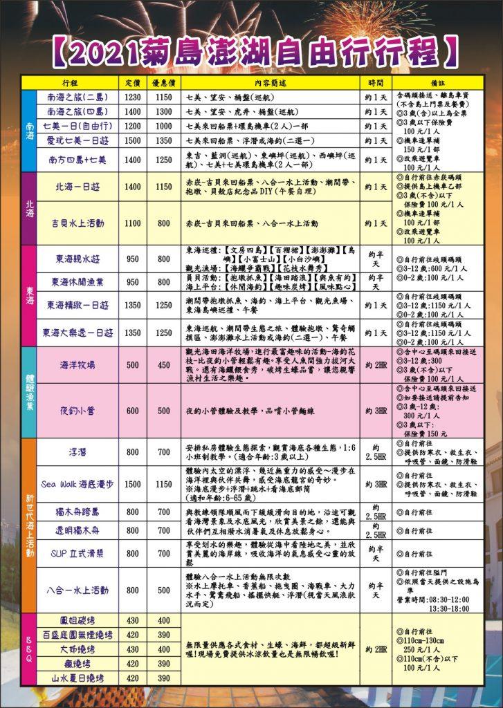 1100326-澎湖-自由行海報02